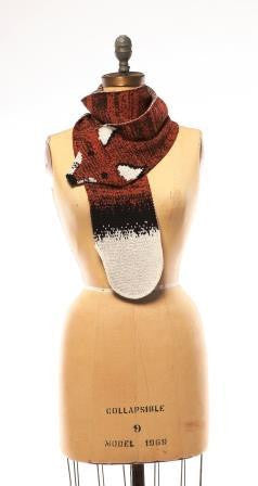Fox scarf made from recycled cotton | Upland Road