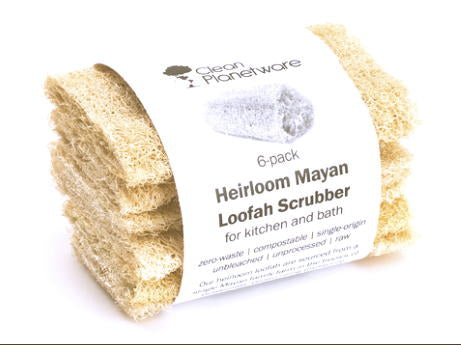 Heirloom Loofah 6 pack Sustainable