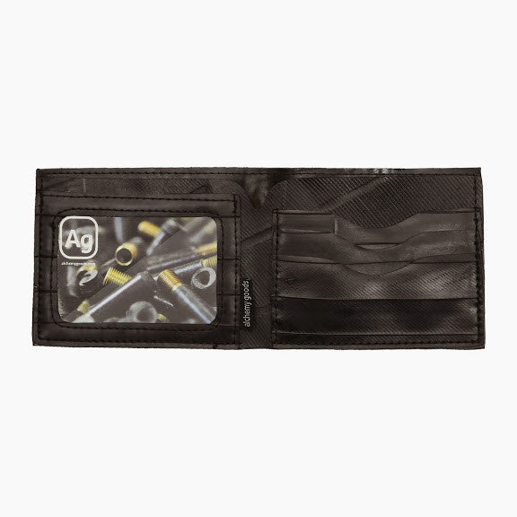 Jackson Wallet from recycled bicycle innertubes, eco-friendly wallet