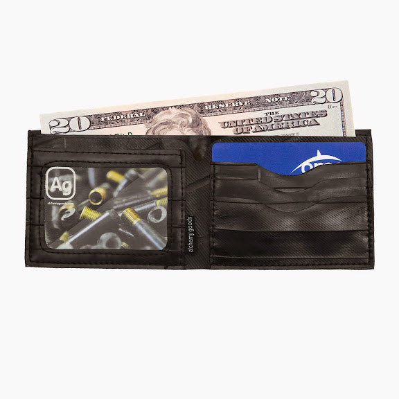 eco-friendly wallet - Jackson wallet from upcycled bicycle innertubes