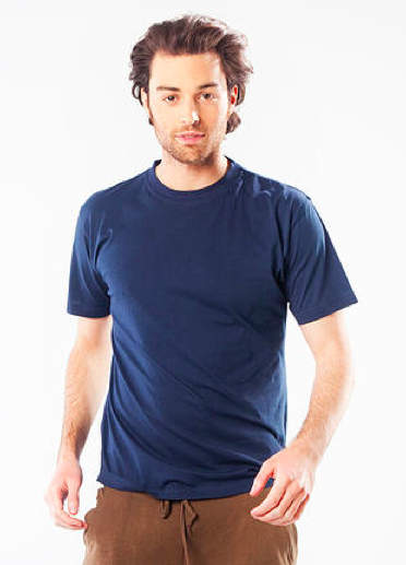 100% organic cotton men's shirt, Ethos Jujube shirt for men.