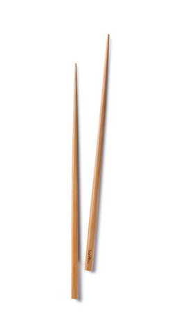 "Reusable Certified Organic Bamboo Chopsticks, 10"", Upland Road"