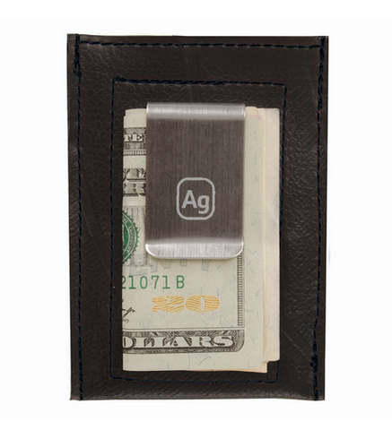 Bryant Money Clip Wallet - upcycled truck innertubes - Alchemy Goods