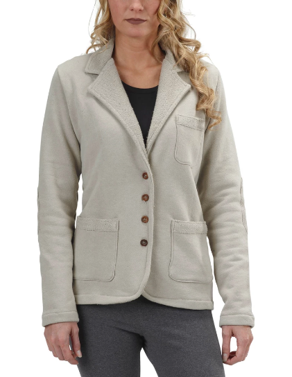 Organic Cotton Metro Jacket in London Fog