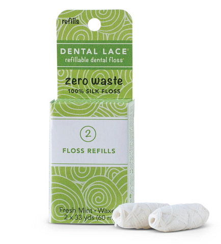 Sustainable Silk dental floss refills