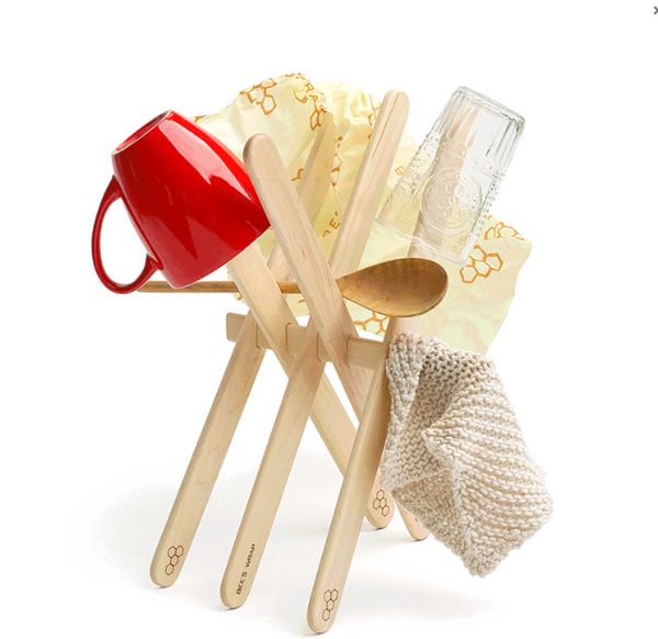 Bees Wrap Drying Rack On Sale