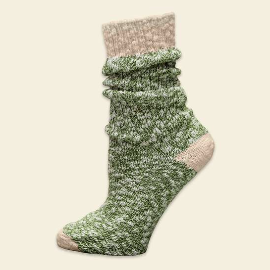 Super Soft Ragg Socks - Organic Cotton - in Natural, Navy and Chestnut
