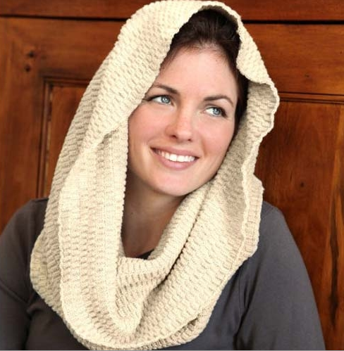 Infinity Cotton Scarf: Recycled Cotton