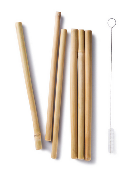 Bamboo Drinking straws, reusable, sustainable, eco-friendly