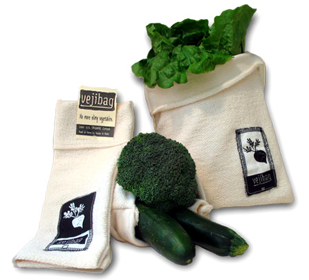 Vejibag - Vegetable storage bag keeps veggies fresh longer - Upland Road