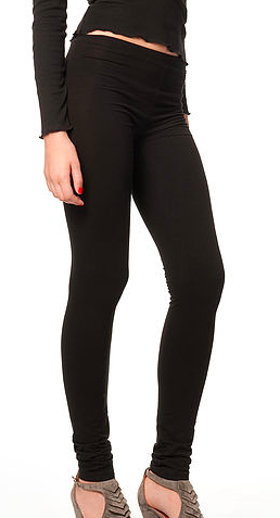 Organic Cotton Leggings - Ethos Eco - Upland Road Ballerina Black Leggings