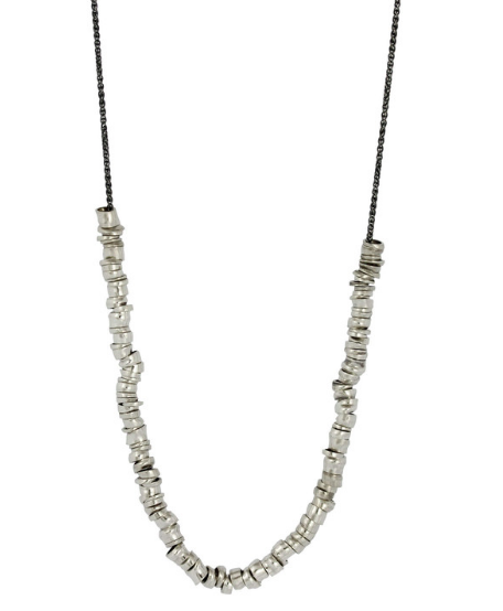 XLong Links Necklace - Sterling Silver, Sophie Hughes