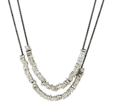 XLong Links Necklace - Sterling Silver by Sophie Hughes