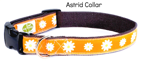 Astrid Decorative Hemp Collar - by earthdog | Upland Road