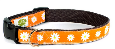 Astrid Hemp Dog Collar