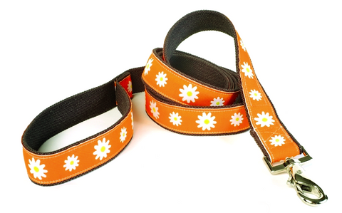 Astrid Decorative Hemp Leash by earthdog | Upland Road