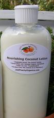100% Organic Coconut Lotion