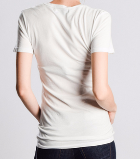 Women's Swoop-Neck Tee - Organic Cotton