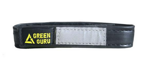 Sustainable Bike Ankle Strap from Upcycled Innertubes