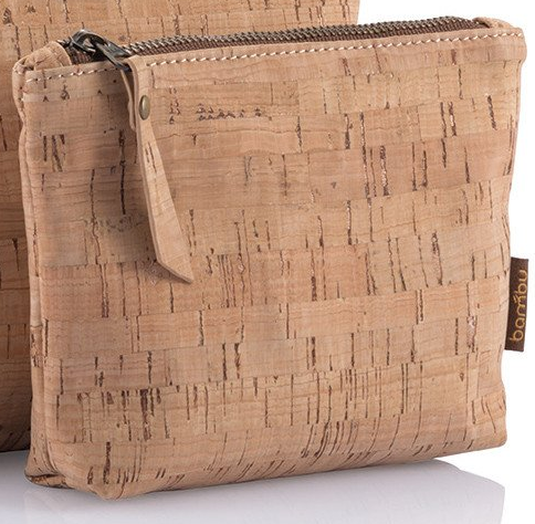 Sustainble Cork Travel Pouch
