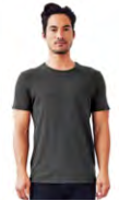 Men's Crewneck Organic Cotton T-Shirt by Groceries Apparel