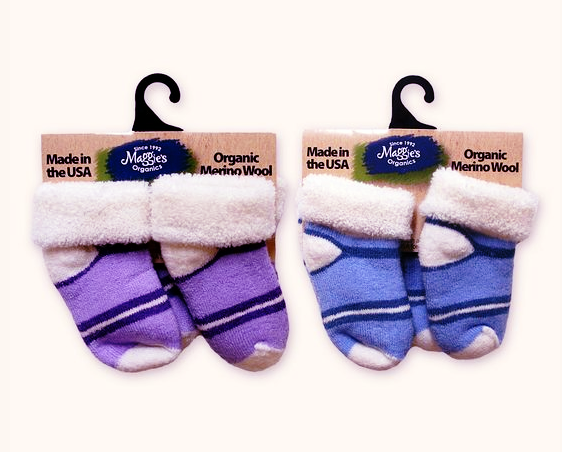 Organic Wool Socks for Babies and Toddlers
