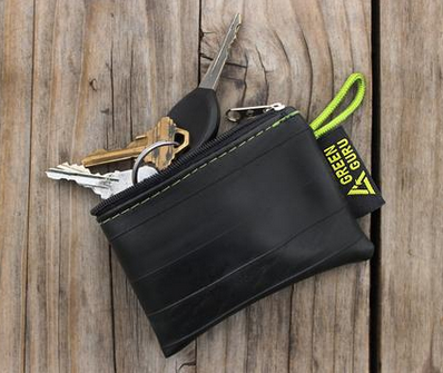 Mini innertube zipper pouch