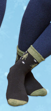 "Winter ""Snuggle"" Socks for Women & Men - Organic Merino Wool"
