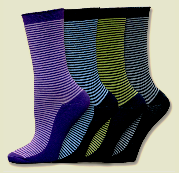 Cushion Striped Cushion Socks