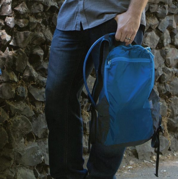Convenient Travel Day Pack- Made from recycled materials