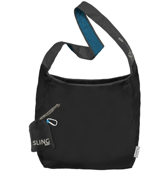 "Sling RePETe Reusable Bag - ""Storm"" - Made from recycled plastic bottles"