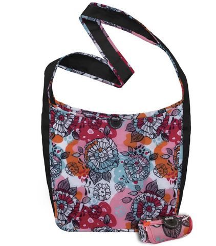 Crimson Crush Sidekick Flora Reusable Bag