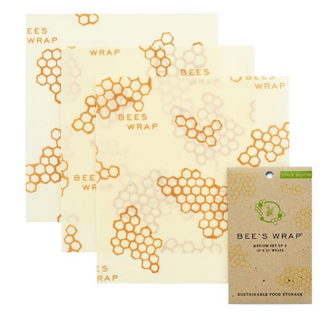 20% Off! Bee's Wrap 3 Medium-Sized Wraps