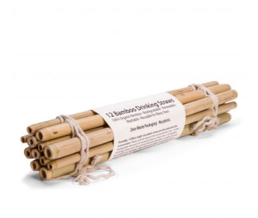 Sustainable Organic Bamboo Straws