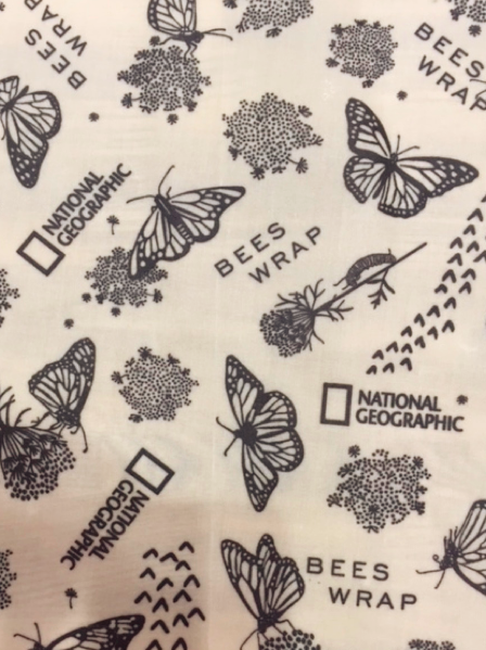 Bee's Wrap Explorer Pack - Contains 1 Lunchwrap & 2 Medium Wraps in Monarch Butterfly Print