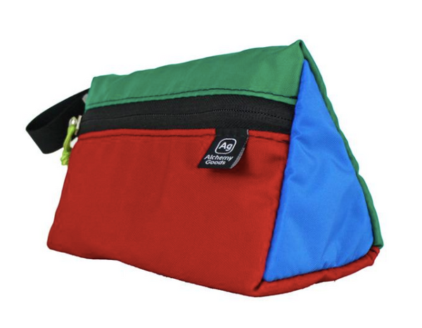 Beacon Wedge Travel Kit - Made from Upcycled Tent & Awning Materials