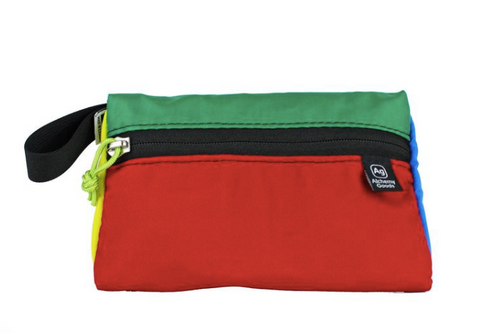 Colorful Travel Kit from Upcycled Tents and Awnings
