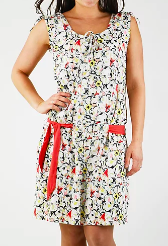 Topaze Dress - Floral Print - Organic Cotton