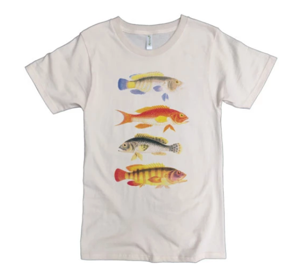 Four Fish Women's T-Shirt - 100% organic cotton