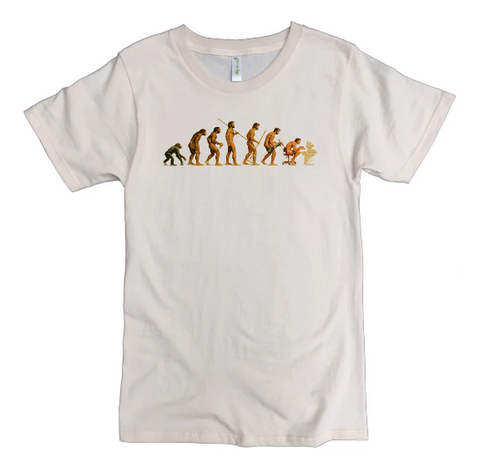 Computer Evolution T-Shirt - 100% Organic Cotton Men's