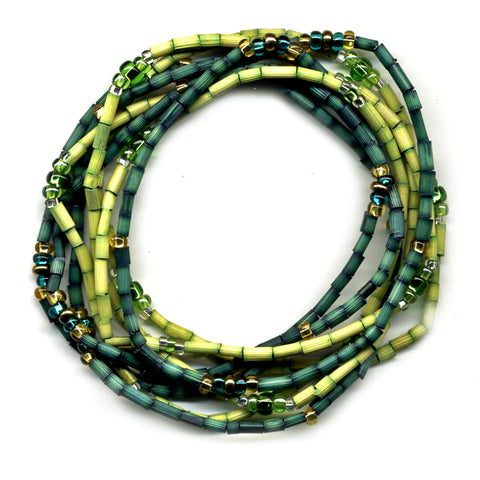 Zulugrass Wintergreen Bracelets, Sustainable jewelry