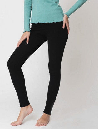 Brody 100% organic cotton Leggings - Black, Fair-Trade, ethos paris, uplandroad.com