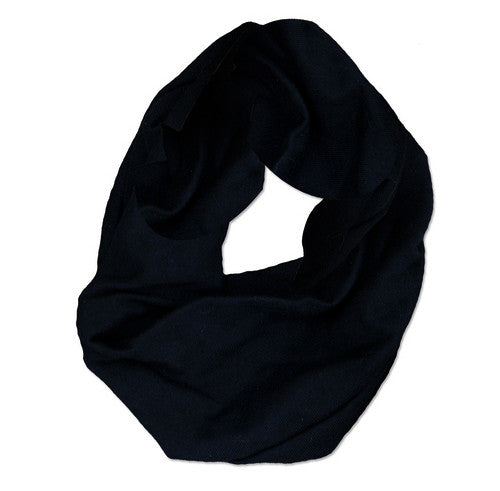 Black wide headband organic cotton, by Maggie's Organics