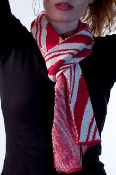 Candy Cane Scarf | Peppermint Scarf | Holiday Scarf
