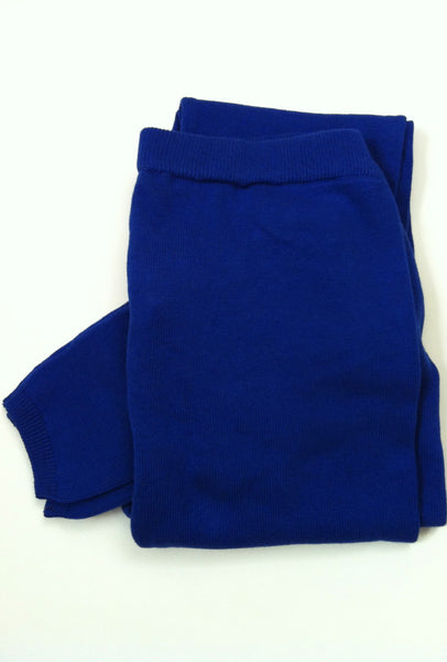 Brody 100% organic cotton Leggings, Cobalt Blue, Organic clothes for women