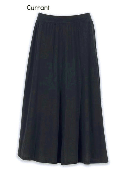 Madison Midi Skirt by Groceries Apparel - Currant