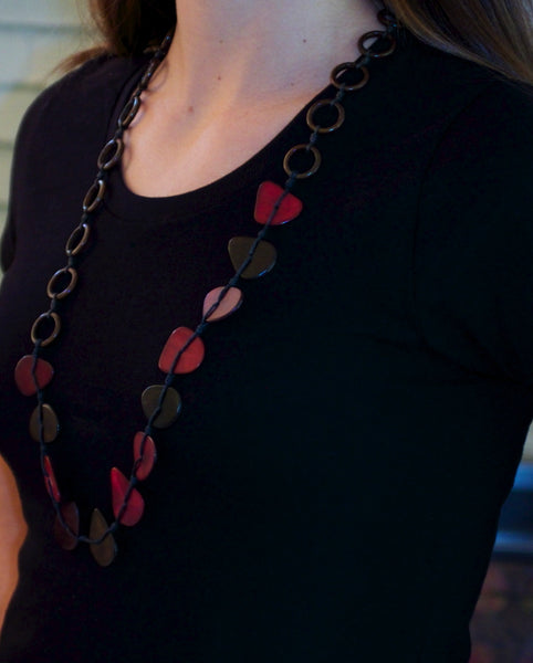 Elena Tagua Nut Necklace - Eco-friendly jewelry | Upland Road