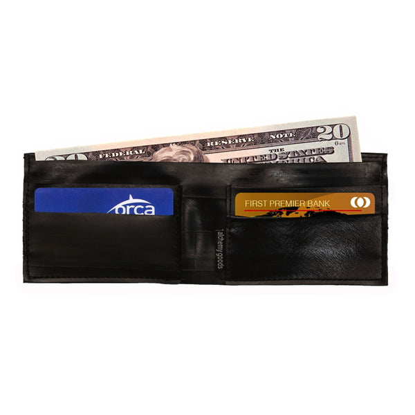 Franklin Wallet, Eco-friendly Wallet, Alchemy Goods Wallet, Upcycled Innertubes wallet Upland Road
