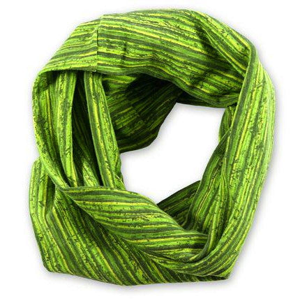 Green stripes hairband by Maggie's Organics
