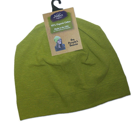 People's Beanie by Maggie's Organics Green